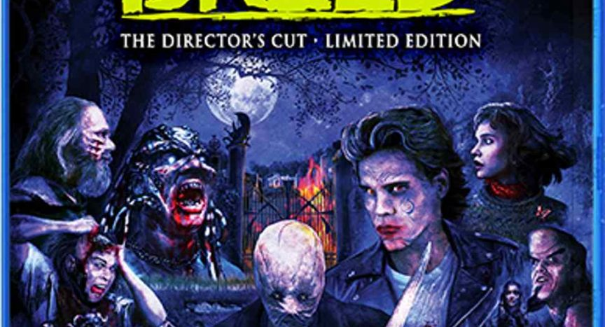 Blu-ray art for Clive Barker's Night Breed.