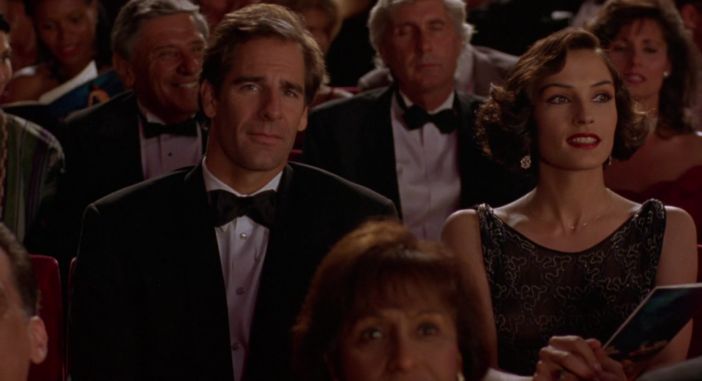 Scott Bakula as Harry D'Amour in Clive Barker's Lord of Illusions.
