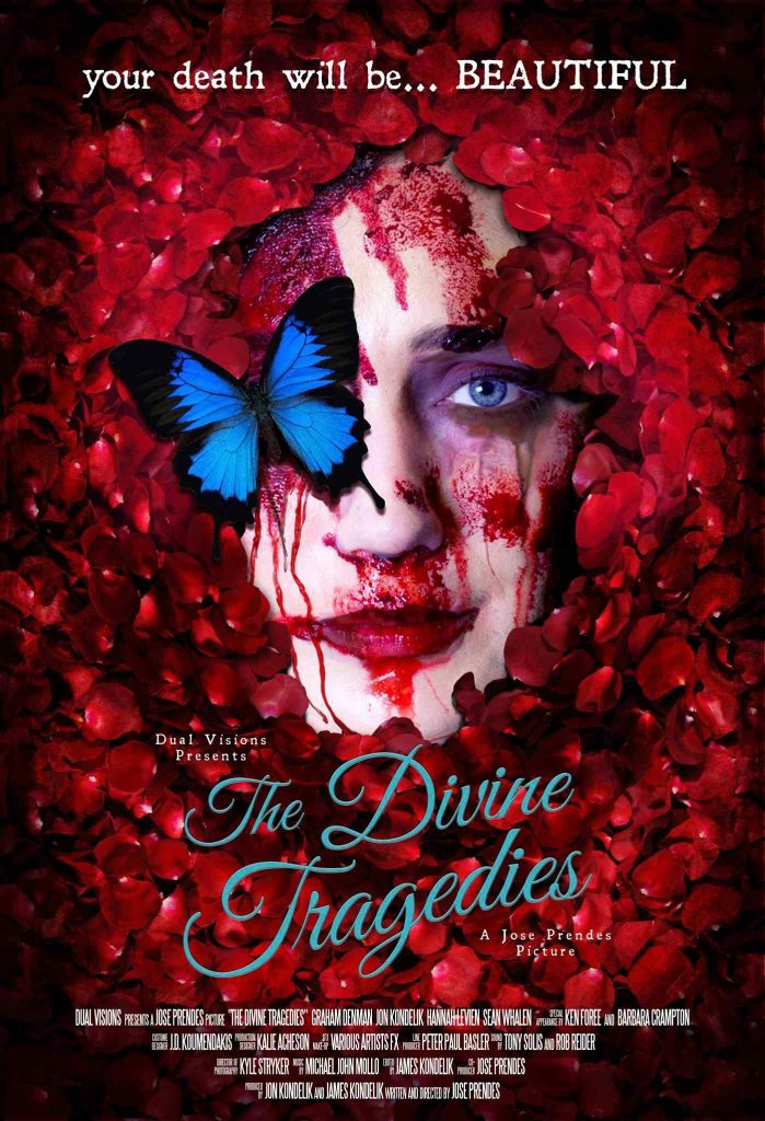 Poster art for Jose Prendes' The Divine Tragedies.
