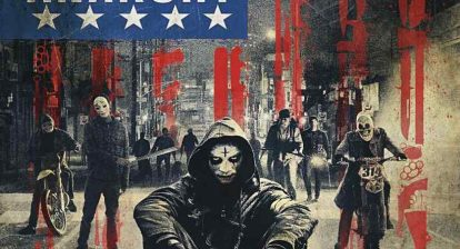 Poster for James DeMonaco's The Purge: Anarchy.