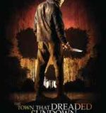 Poster for Alfonso Gomez-Rejon's remake of The Town that Dreaded Sundown
