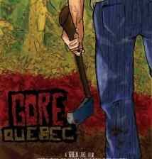 Poster for Jean Benoit Lauzon's Gore, Quebec.