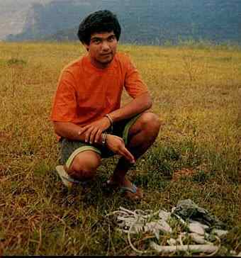 Marcelo de Andrade who killed a number of young boys and drank their blood.