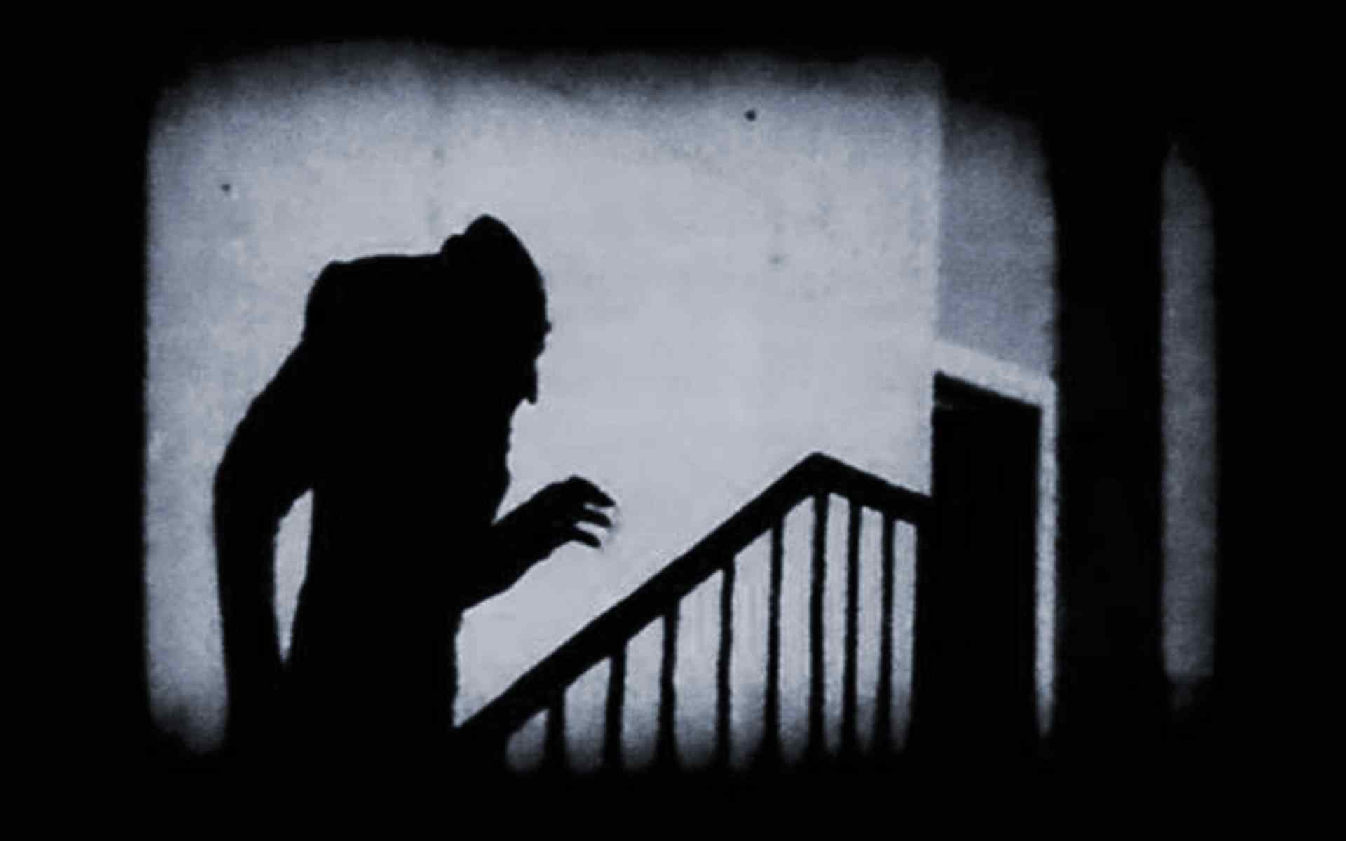 Nosferatu starring Max Shreck and directed by F.W. Murnau.