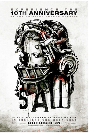 Poster for James Wan's Saw