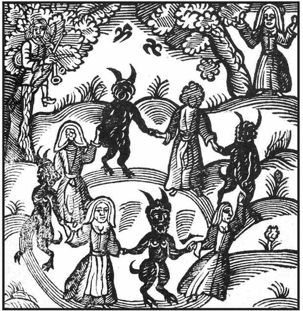 The famous Pendle Witches in Lancashire in the biggest witches case in history.
