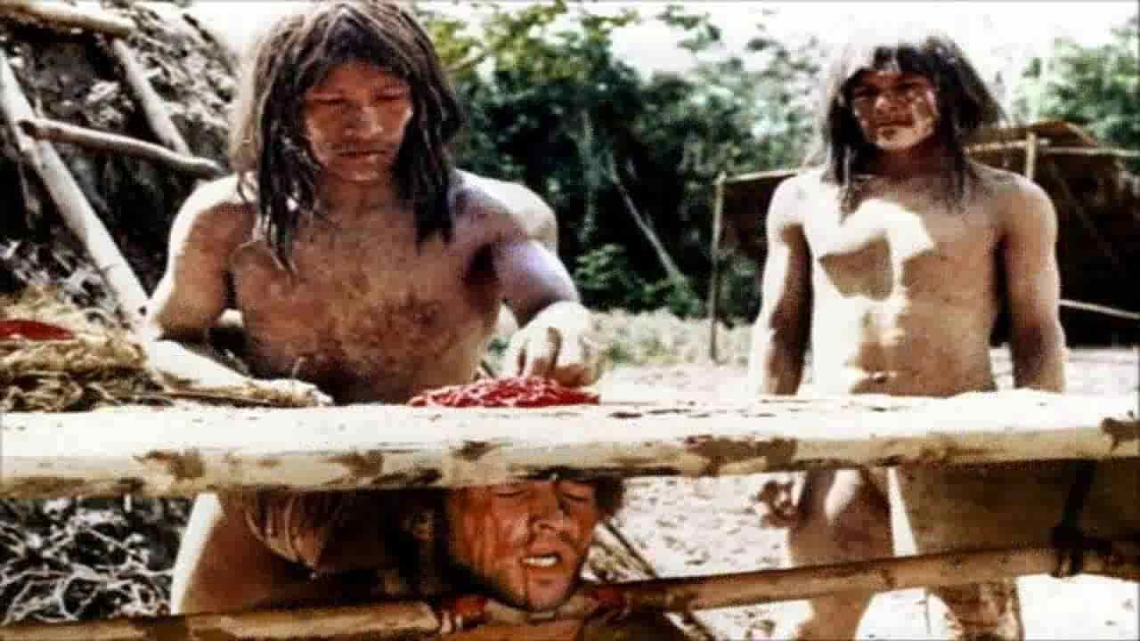 The cannibal Holocaust directed by Ruggero Deodato.