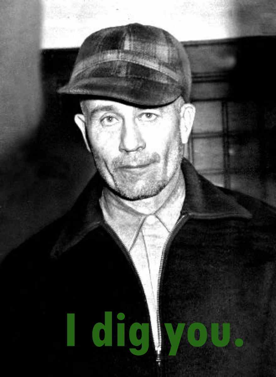 Ed Gein is the terrifying serial killer which spawned the birth of a number of fictional horror characters.