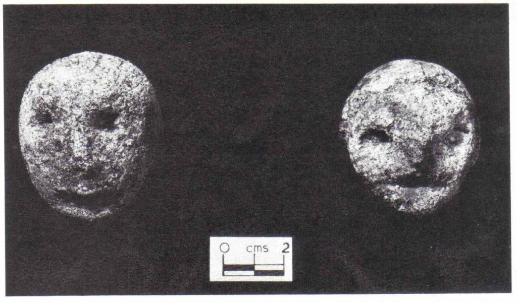 The Hexam Heads are mysterious stones in which people in the presence have seen a half-man, half-animal like figure.