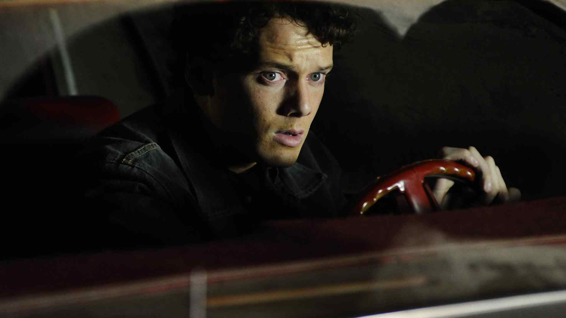 Anton Yelchin who plays Odd Thomas in the movie of the same name directed by Stephen Sommers.