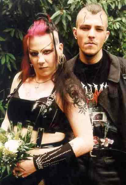 Daniel and Manuela Ruda who claim themselves to be real life vampires.