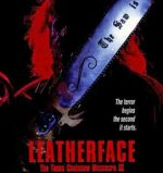 Leatherface poster.