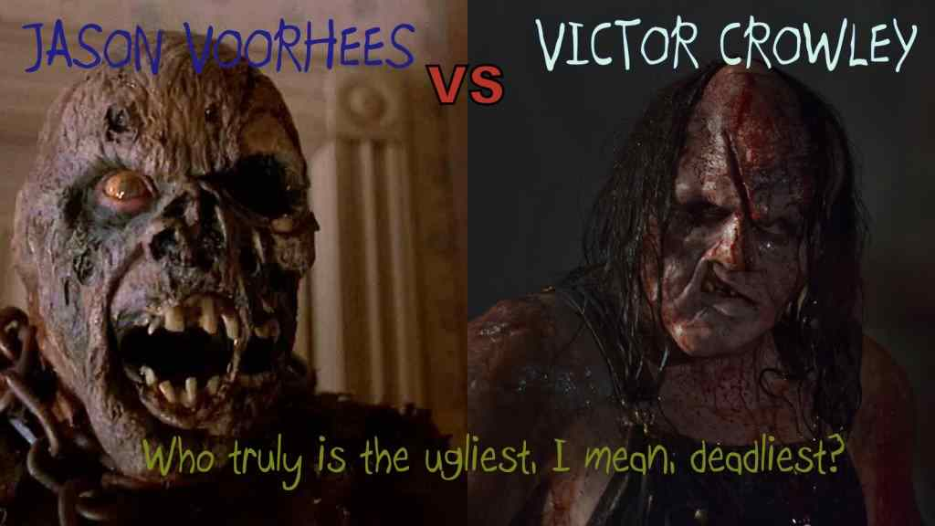 Jason Voorhees and Victor Crowley were both played by Kane Warren Hodder.