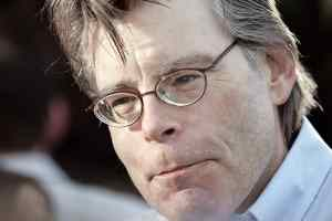 Novelist Stephen King.