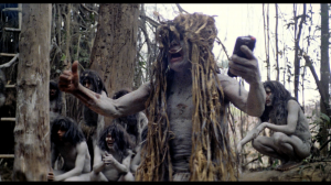 Cannibal tribe members from Cannibal Holocaust.