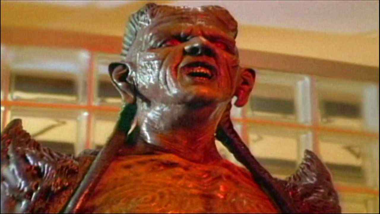 A scene from Wishmaster 4: Prophecy Fulfilled.