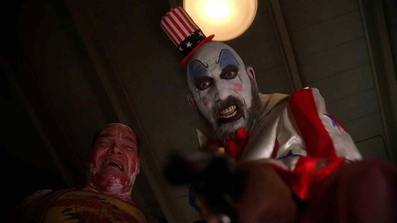captain spaulding from rob zombie house of a 1000 corpse.