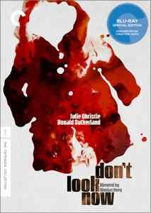Cover art from the criterion release of Nicolas Roeg's Don't Look Now.
