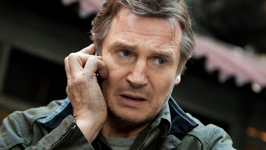 Liam Neeson plays Bryan Mills in the hit Taken movies.