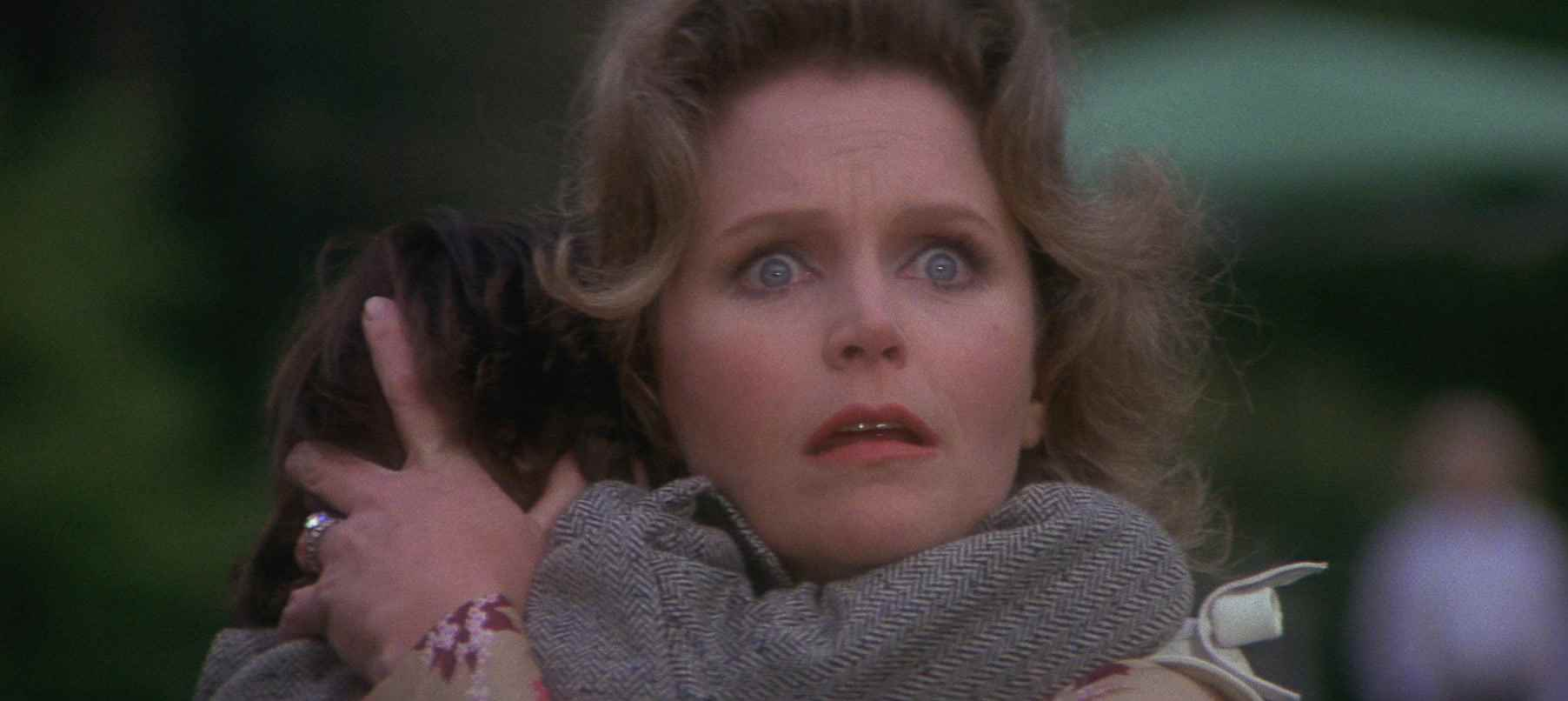 The look of horror from 1976's The Omen.