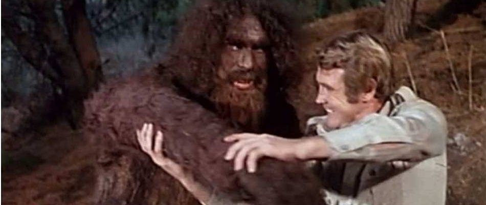 Steve Austin vs. Bigfoot in the Six Million Dollar Man