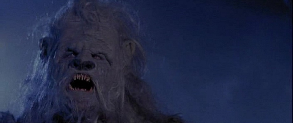 The monster from Yeti: Curse of the Snow Demon