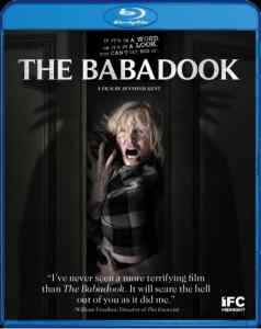 The Babadook Blu-ray artwork.