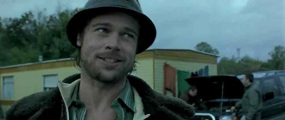 Difficult to decipher Brad Pitt from Snatch