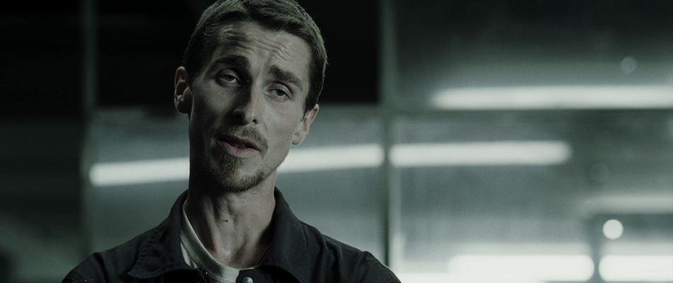 Skinny Christian Bale from the Machinist