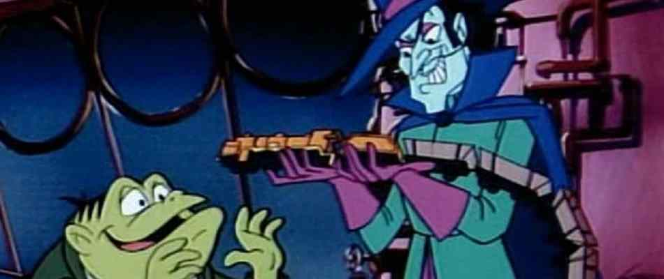 Dr. Dred and Toad, villains from the Drak Pack