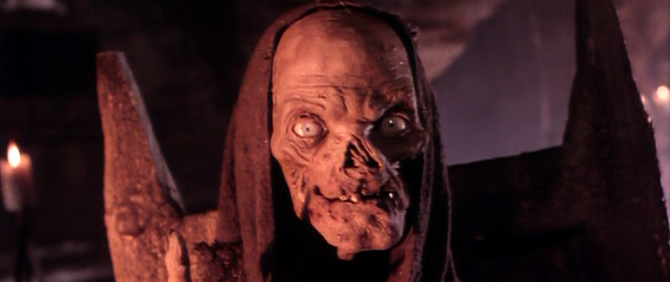 The Crypt-Keeper as seen in the HBO anthology series Tales from the Crypt