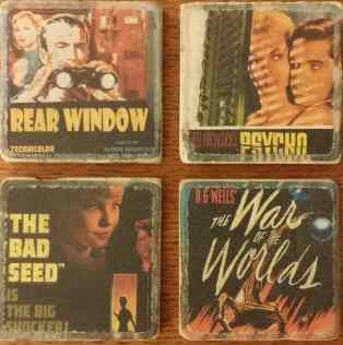 Horror Movie Coasters