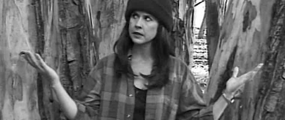 Linda Blair spoofing the Blair Witch Project in the Blair Bitch Project.