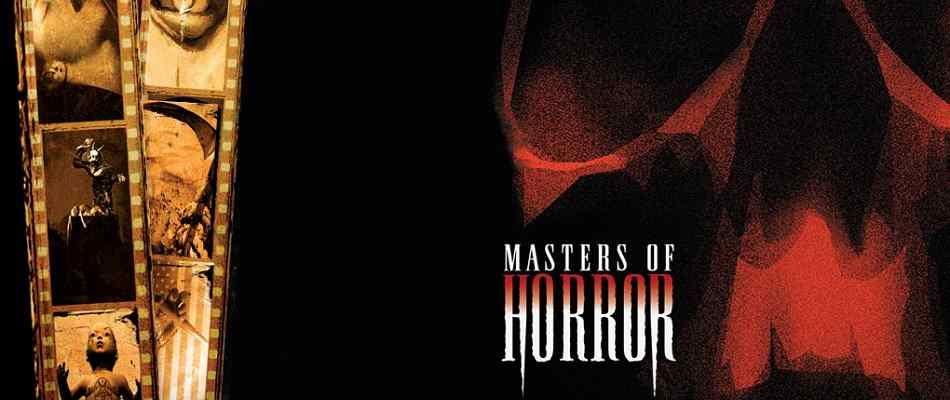 Masters of Horror promotional poster image