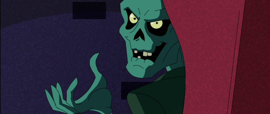 The cartoon Crypt-Keeper as seen in the animated Tales from the Cryptkeeper