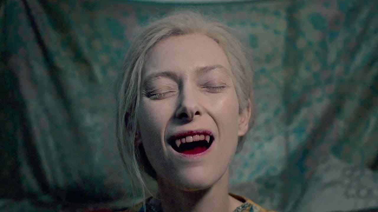 Tilda Swinton Enjoys Blood