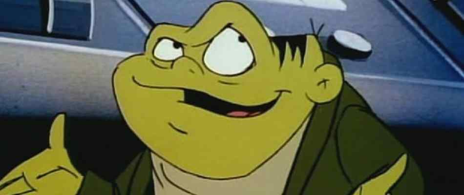 Toad, Dr. Dred's toadie, from the Drak Pack