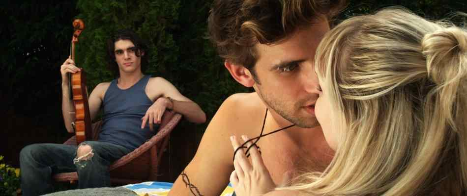 RJ Mitte and the cast of House of Last Things