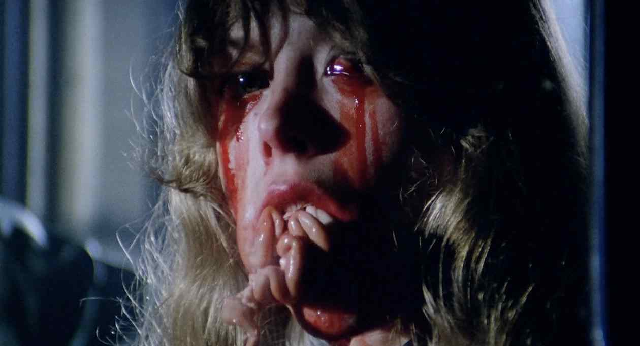 One woman can't stomach the gore in City of the Living Dead