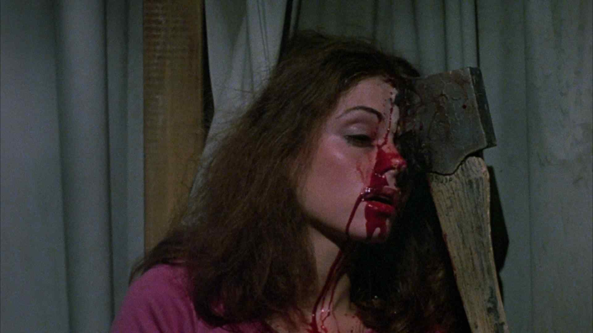 Marcie gets the ax in Friday the 13th