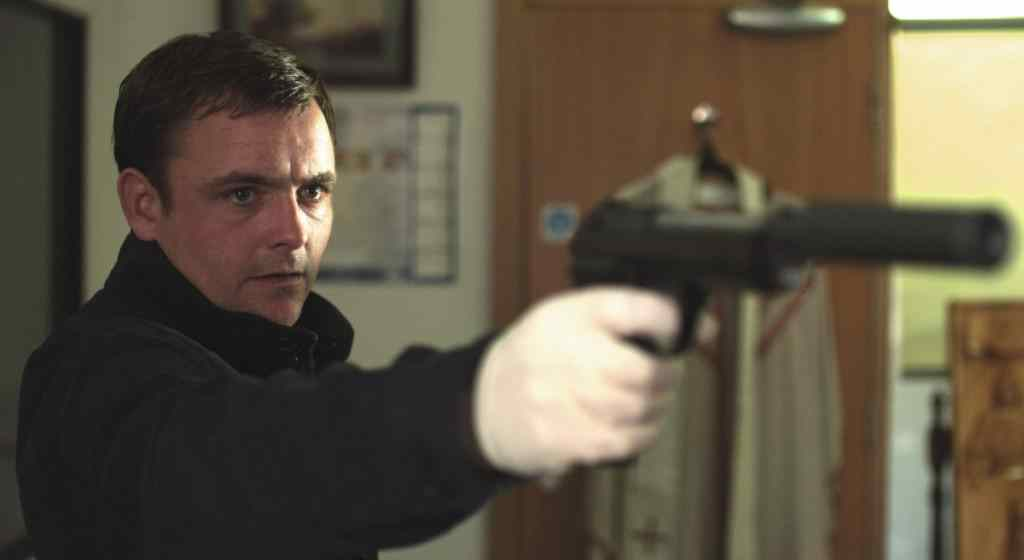 Ben Wheatleys kill list in which Neil Maskell who plays Jay bashes in the head of The Librarian with a hammer.