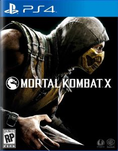 Mortal Kombat X cover PS4
