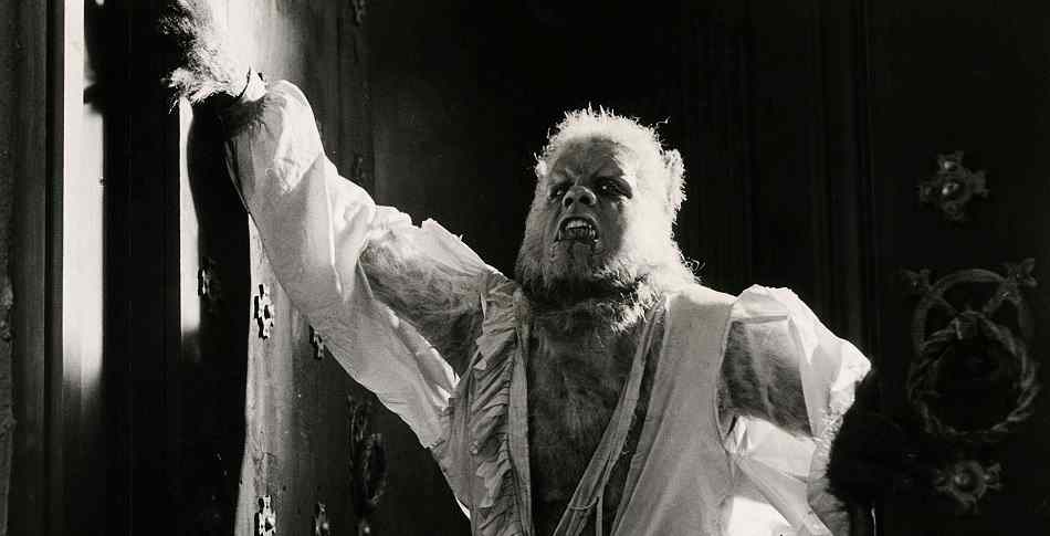 The werewolf from Hammer's Curse of the Werewolf.