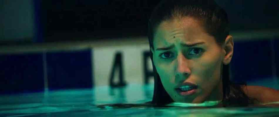 Terror in the swimming pool from 2013's Breaking at the Edge.