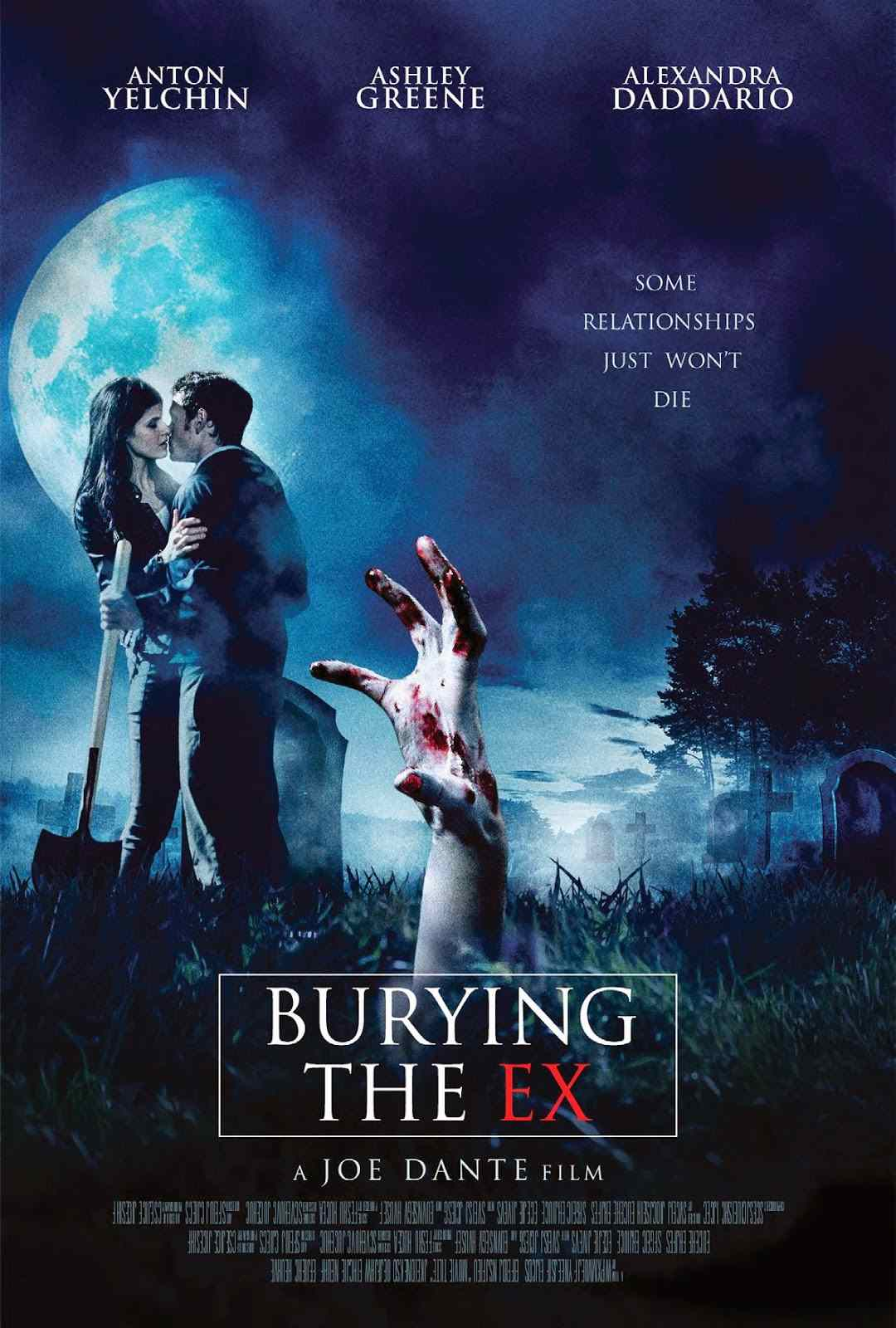 Poster for Joe Dante's Burying the Ex.