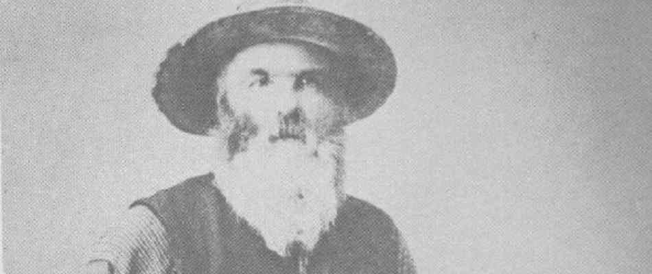 photograph of the infamous mountain man Liver Eating Johnson