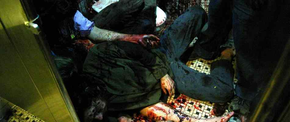The bodies start to pile up in the 2006 horror movie Mulberry Street.