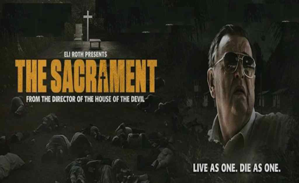 The Sacrament poster. Five Films that didn't need to be found footage.