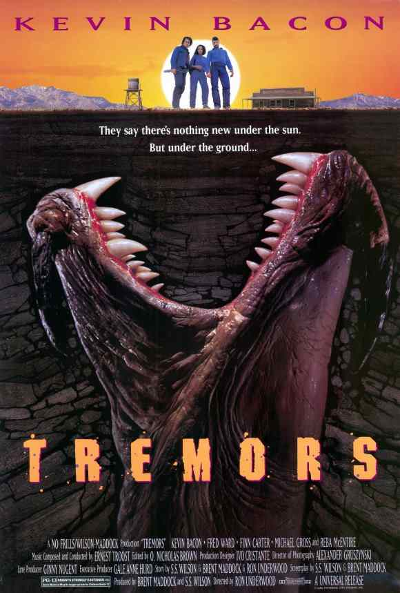 Tremors theatrical poster