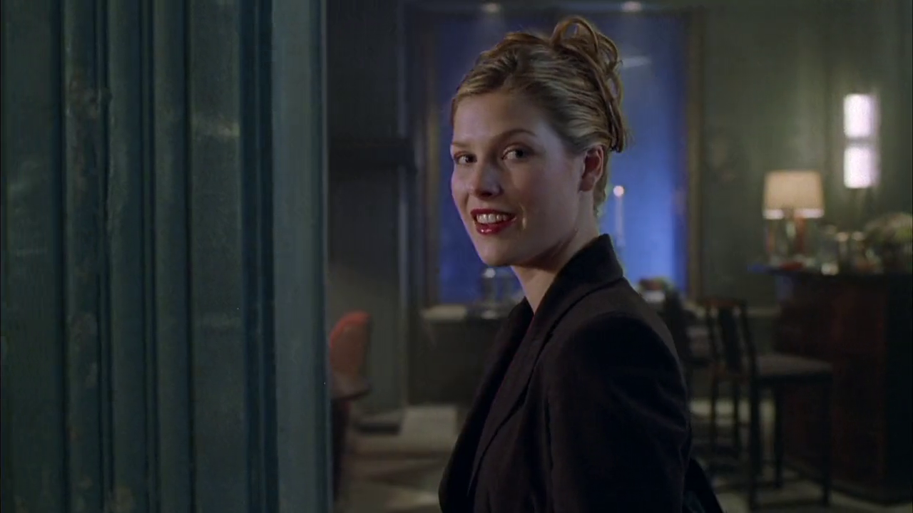 Ali Larter plays final girl Sara in the 1999 remake of House on Haunted Hill